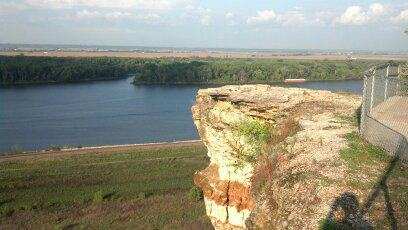 View from the top of Lover's Leap, courtesy of my aunt :)